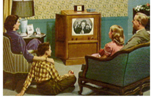 When TV was the only cure for boredom.
